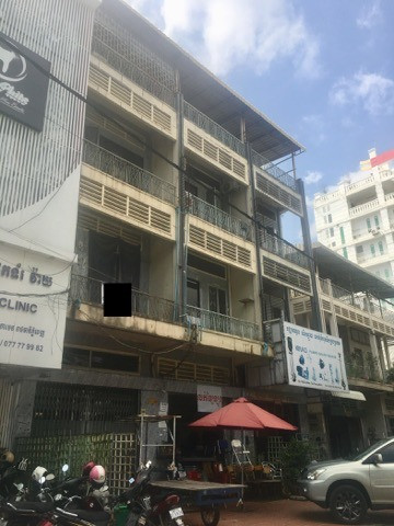 Flat 3 floor near Toul Tom Pong Pagoda