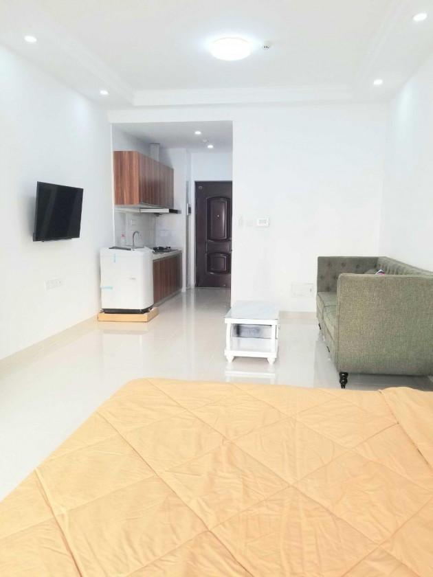 Piseth D.I Riviera condominium studio room high floor