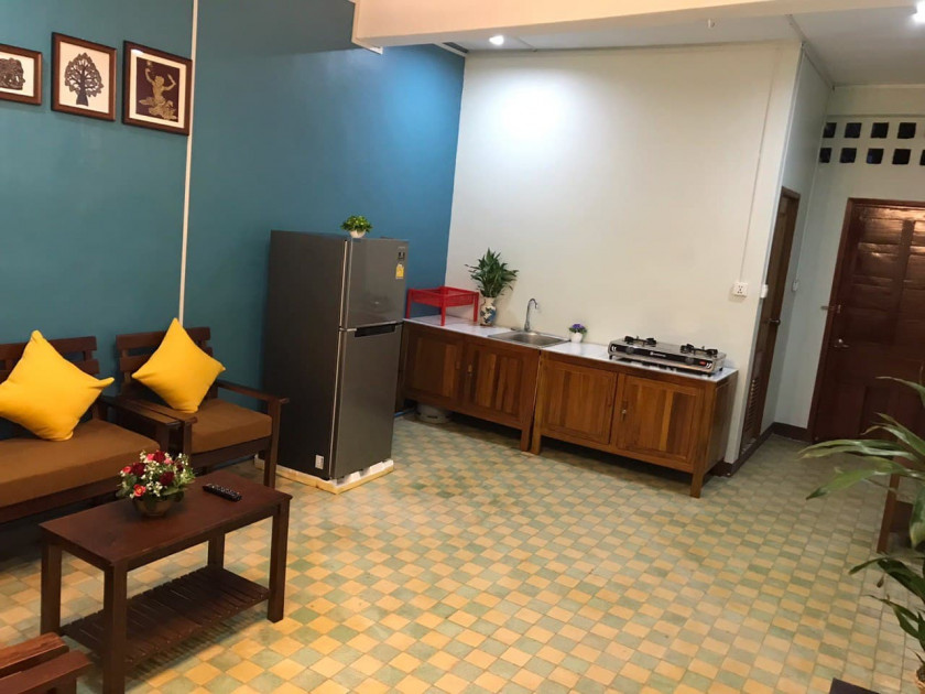 Renovated House 2 Bedrooms in Phsar Kandal