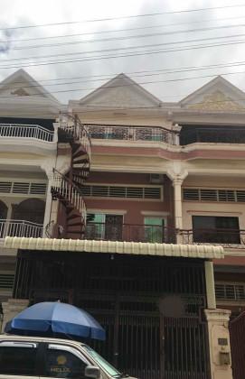 Flat Tuol Sangkae,St.04R Flat in Phnom Penh