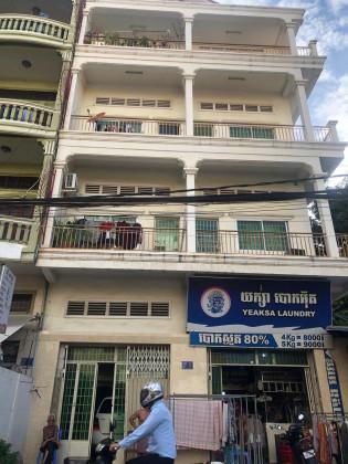 Flat Near Beong Trabaek Market,St.105 Flat in Chamkar Mon phnom penh