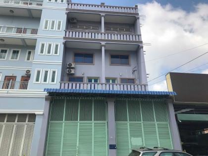 Whole Flat 3 Storey Tuek L'ak III,St.156 Flat in Toul Kork phnom penh