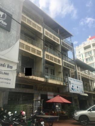 Flat 3 floor near Toul Tom Pong Pagoda Flat in Phnom Penh