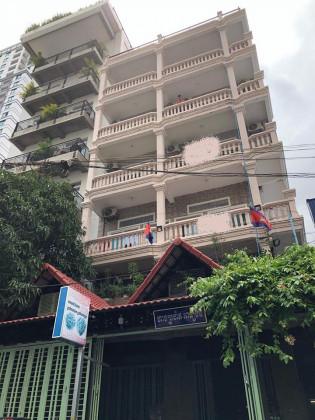House Rent,St. 278 Flat in Chamkar Mon phnom penh