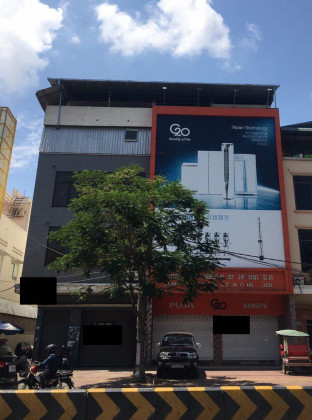Shophouse as 2 Building Mao Tse Tong near Vanda Institute Flat in Chamkar Mon phnom penh
