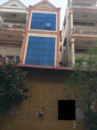 Whole Flat St.320 Flat in Chamkar Mon phnom penh
