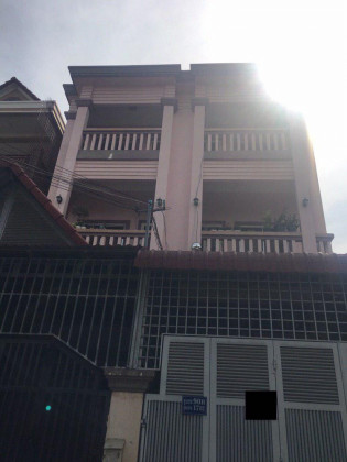Flat St.17BT Two Bedroom Furnished Flat in Phnom Penh