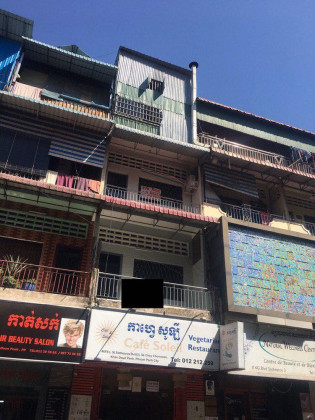 Flat 3 Bedrooms St.Sothearos Blvd Flat in Phnom Penh