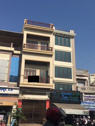 Flat st.271 3 floors near circle Flat in Phnom Penh