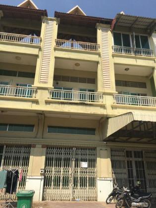 Whole Flat 3 floors St.03 Flat in Phnom Penh