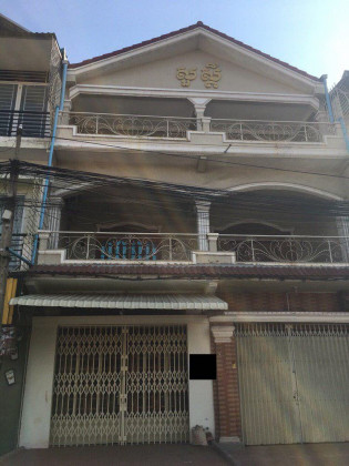 Ground floor Flat Chbar Ampov St.630 Flat in Phnom Penh