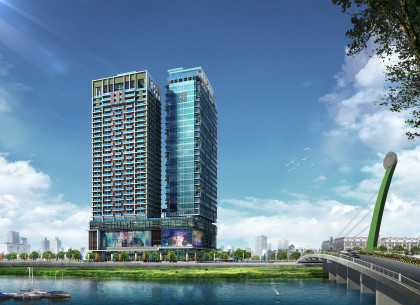 Diamond Twin Tower Condominium in Phnom Penh