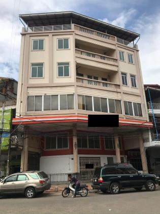 Shop house Near Toul Kork Market Flat in Phnom Penh