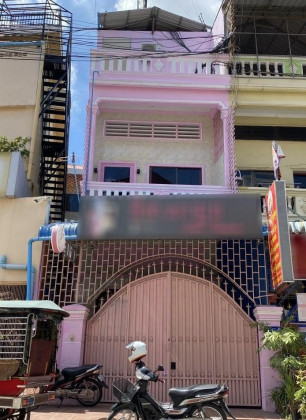 Shop House St,313, Toul Kork Flat in Phnom Penh