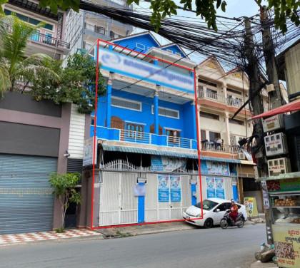 Shophouse St.261 , Boeng Salang ,Toul Kork Flat in Phnom Penh