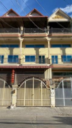 Flat St.610, Near Toul Kork Market Flat in Phnom Penh