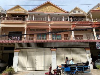 Shophouse At Tuol Sangkae Flat in Phnom Penh