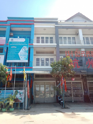 Shophouse at Borey New world Kombol 01 Flat in Phnom Penh