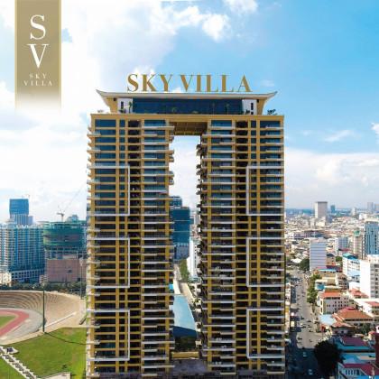 Sky Villa Condominium in Phnom Penh