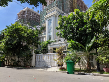 Queen Villa for Lease at Borey Orkide Villa Street 2004 Villa in Phnom Penh