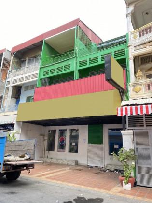 Shophouse Near Phsar Depou Flat in Phnom Penh