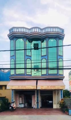 អគារជួលនៅផ្លូវជាតិលេខ៥ Building in Phnom Penh