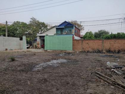 Empty Land Near asian akneer TV station Land in Phnom Penh