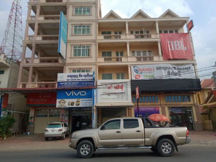 Shophouse  At Sen Sok St 1986 Flat in Phnom Penh