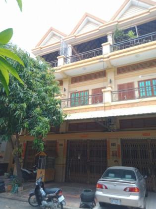 Flat in Borey NW Chamkar Doung Flat in Phnom Penh