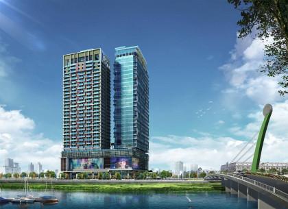 Diamond Twin Tower Condominium in Phnom Penh