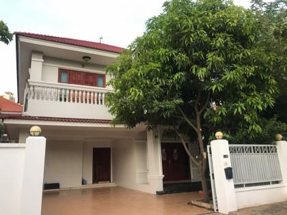 Villa for Lease in Bassac Garden Villa in Phnom Penh