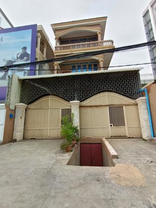 ផ្ទះជួលអាចរកសុីបាននៅខណ្ឌមានជ័យ Flat in Phnom Penh