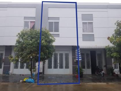 ផ្ទះអាជីវកម្មនៅបុរីពីភពថ្មី ឈូកវ៉ា II Flat in Phnom Penh