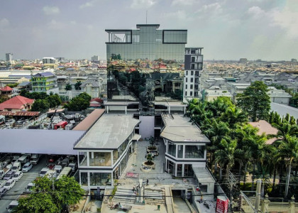 Retail F&B Space at Spring Plaza Business Center on Street 2004 Flat in Phnom Penh
