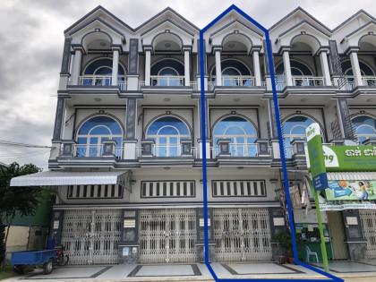 ផ្ទះអាជីវកម្មនៅឈូកវ៉ា Flat in Phnom Penh