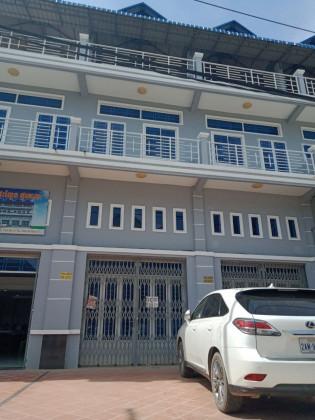 ផ្ទះល្វែងនៅ បុរីថ្មគោល Flat in Phnom Penh