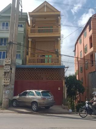 Shophouse At Street 371 Flat in Phnom Penh