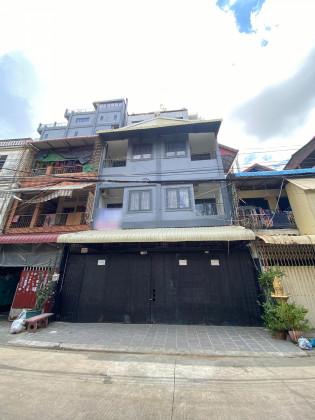 ផ្ទះអាជីវកម្មនៅចំការមន Flat in Phnom Penh