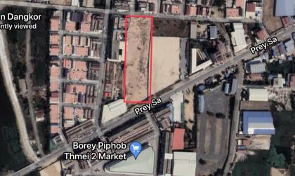 ដីនៅចំការដូង Land in Phnom Penh
