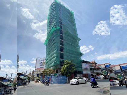 C-076-NEW COMMERCIAL BUILDING NEAR RUSSIAN MARKET Building in Phnom Penh