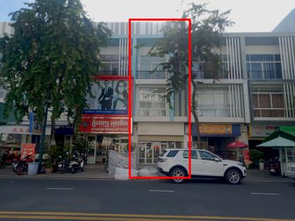 ផ្ទះអាជីវកម្មនៅបុរីប៉េង ហួតបឹងស្នោ Flat in Phnom Penh