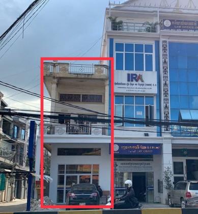 ផ្ទះរកស៊ីបាននៅជិតវិទ្យាល័យសាមគ្គី Flat in Phnom Penh