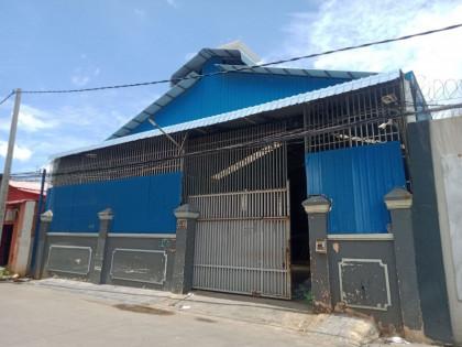 ឃ្លាំងនៅទួលទំពូង Warehouse in Phnom Penh