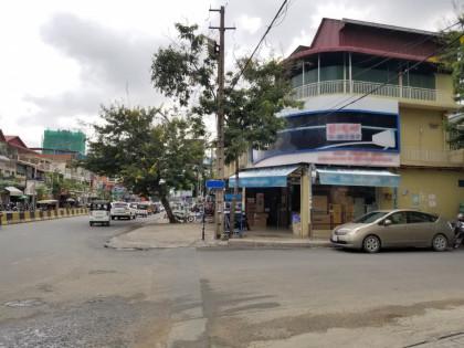 ផ្ទះកែងបើកអាជីវកម្មនៅអូឡាំពិក Flat in Phnom Penh
