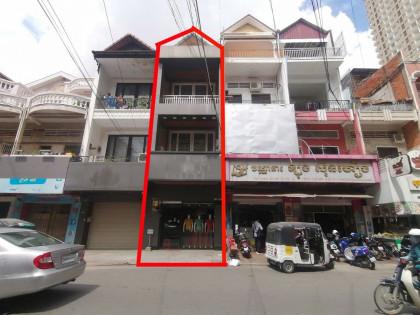 ផ្ទះល្វែងនៅអូរឬស្សី Flat in Phnom Penh